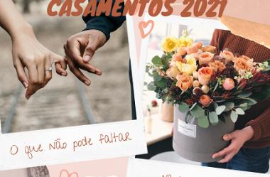 Casamentos 2021: o que não pode faltar na sua checklist